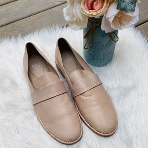 Eileen Fisher Shoes - Eileen Fisher Nude Leather Loafers